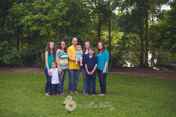 Family photo shoot, Ellerslie, GA